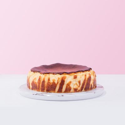 Basque Burnt Cheese Cake - CakeRush
