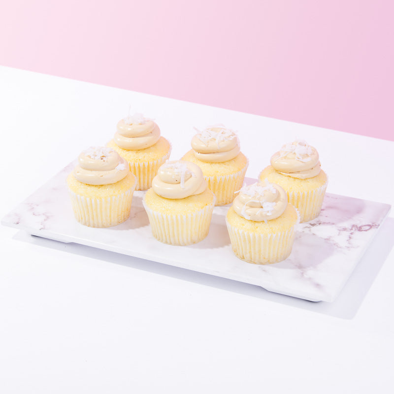 Butterscotch Banana Cupcakes (6-12 Pieces) - CakeRush