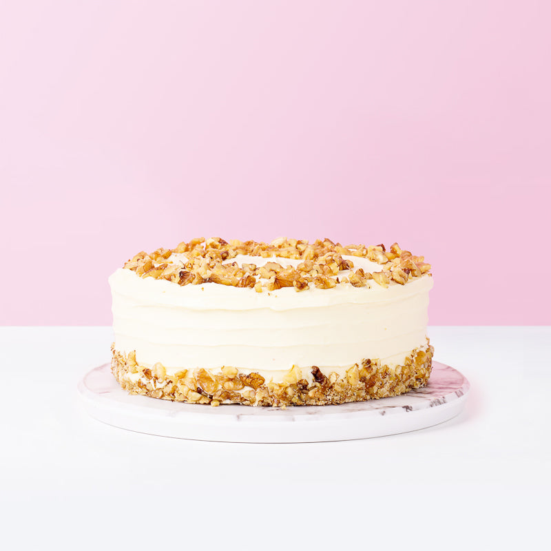 Walnut Carrot Cake - CakeRush