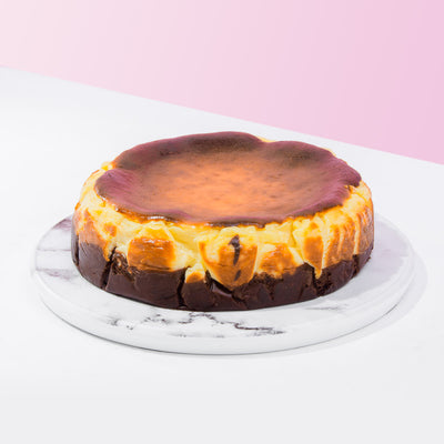 Chocolate Burnt Cheese Cake - CakeRush