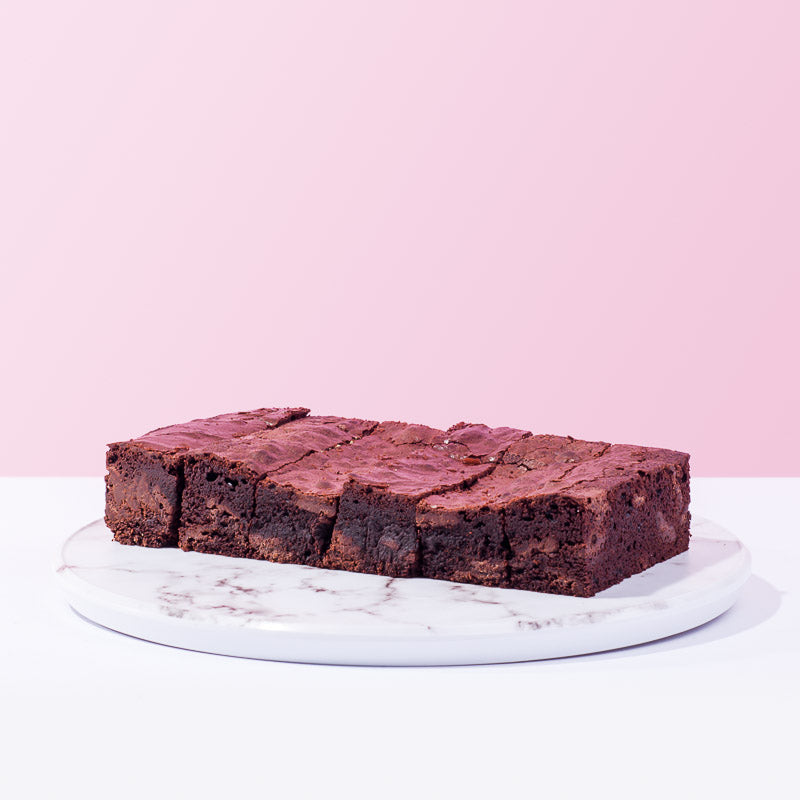 Classic Fudge Brownies - CakeRush