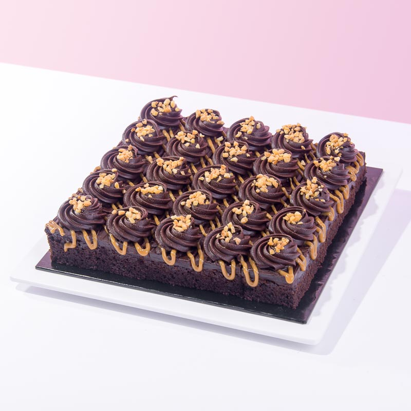 Chocolate Caramel Squares (25 Pieces) - CakeRush