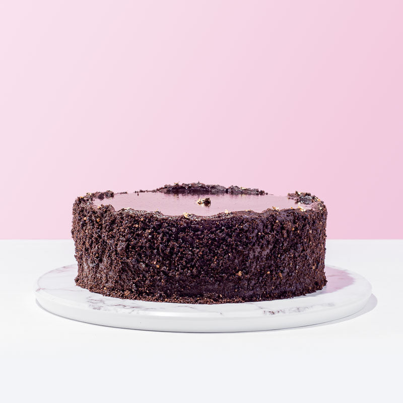 Dark Chocolate Devil Cake - CakeRush