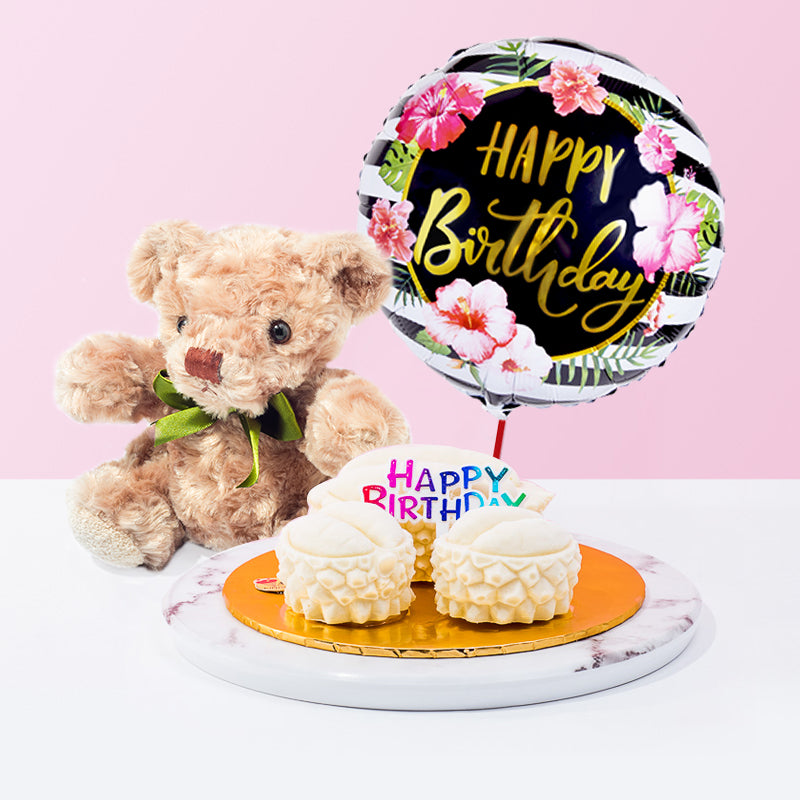 Durian Family Ice Cream Cake Bundle - CakeRush
