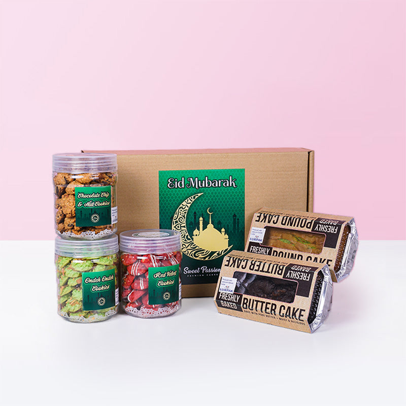 Eid Mubarak Goodies Set (Limited Edition) - CakeRush