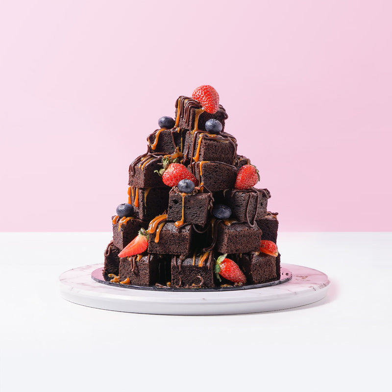 Stacked Brownies (36 Pieces) - CakeRush