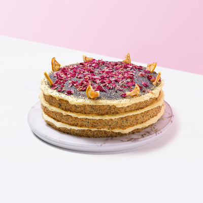 Lemon Poppyseed Cake - CakeRush