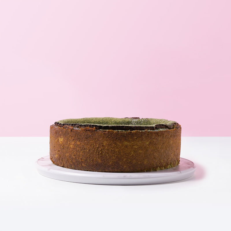 Green Tea Burnt Cheesecake - CakeRush