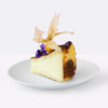 Floral and Fruity Basque Burnt Cheesecake - CakeRush
