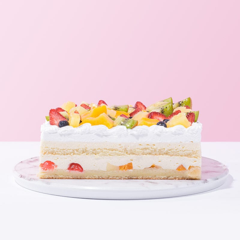 Buy 1 Free 1 - Fruit Chantilly Cake - CakeRush