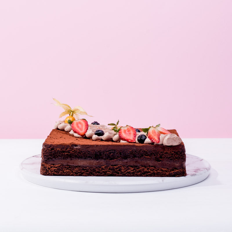 Buy 1 Free 1 - Gianduja Dark Chocolate Cake - CakeRush
