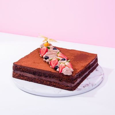 Gianduja Dark Chocolate Cake - CakeRush