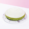 Green Tea White Chocolate Cake Pie - CakeRush