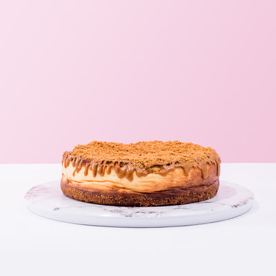 Lotus Caramelised Biscuit Cheesecake - CakeRush
