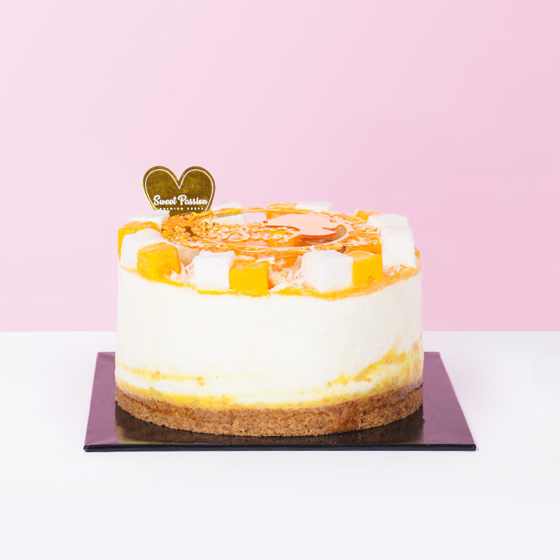 Mango Chilled Cheese Cake - CakeRush