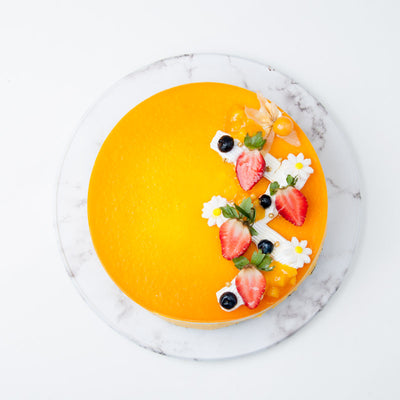 Mango Jelly Cheese Cake - CakeRush