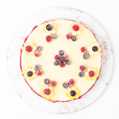 Mangoberry Ice Cream Cake - CakeRush
