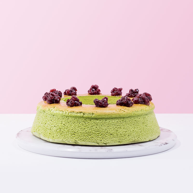 Matcha Cotton Cheese Cake - CakeRush