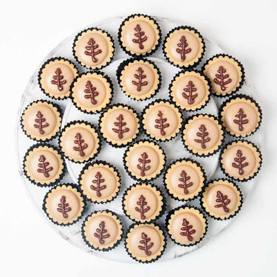 Nutella Cheese Tart (25-50 Pieces) - CakeRush
