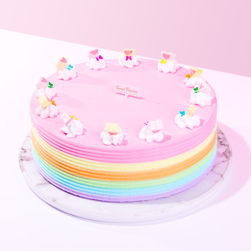 Over The Rainbow Cake - CakeRush