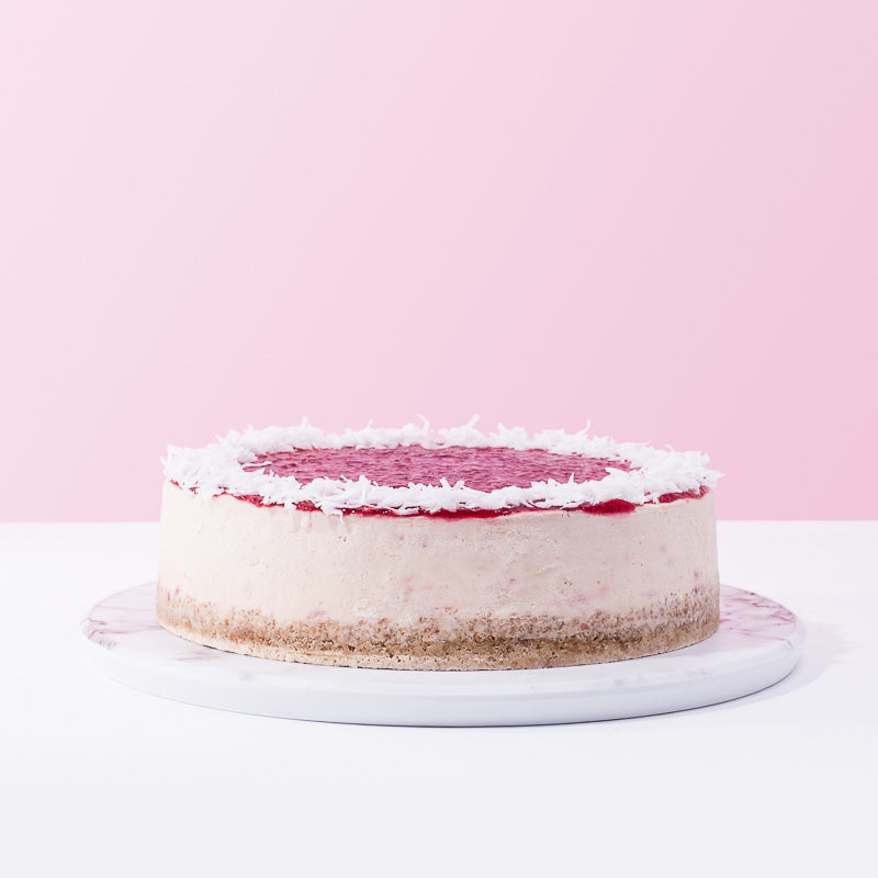 Phil's Raspberry Compote Cheese Cake - CakeRush