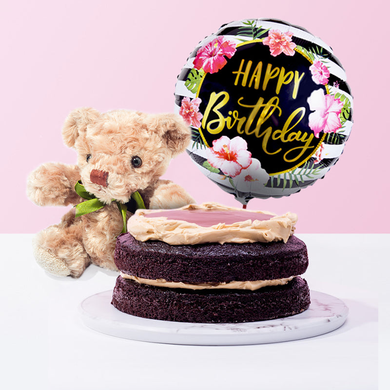 Salted Caramel Chocolate Cake Bundle - CakeRush