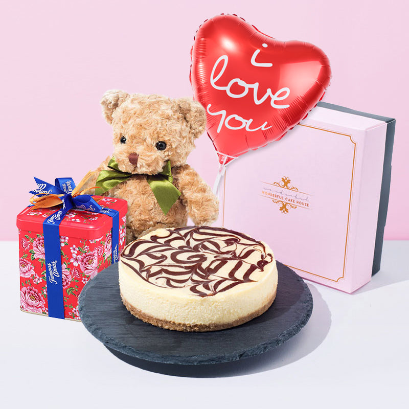 Together With You Valentine Gift Bundle - CakeRush
