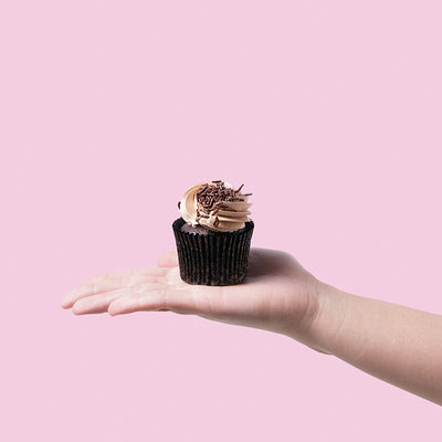 Triple Chocolate Cupcakes (12 Pieces) - CakeRush