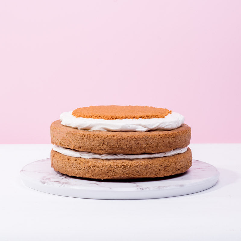 Vegan Banana Butterscotch Cake - CakeRush