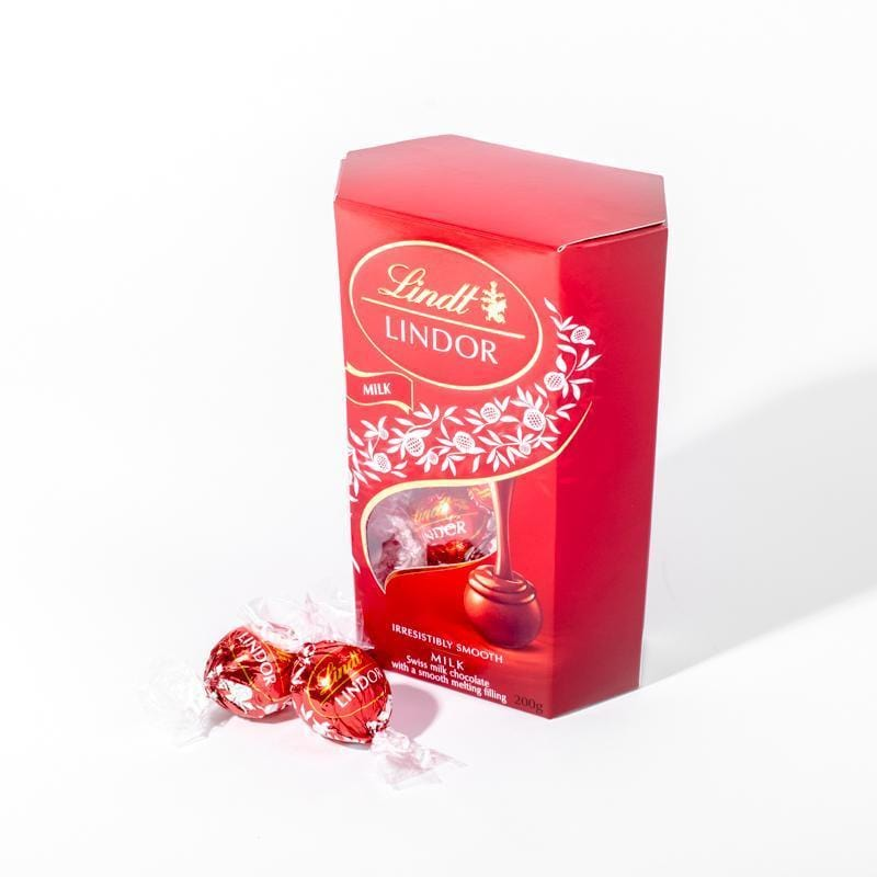 Lindt | Lindor Cornet Milk Chocolate - 200 gm - CakeRush