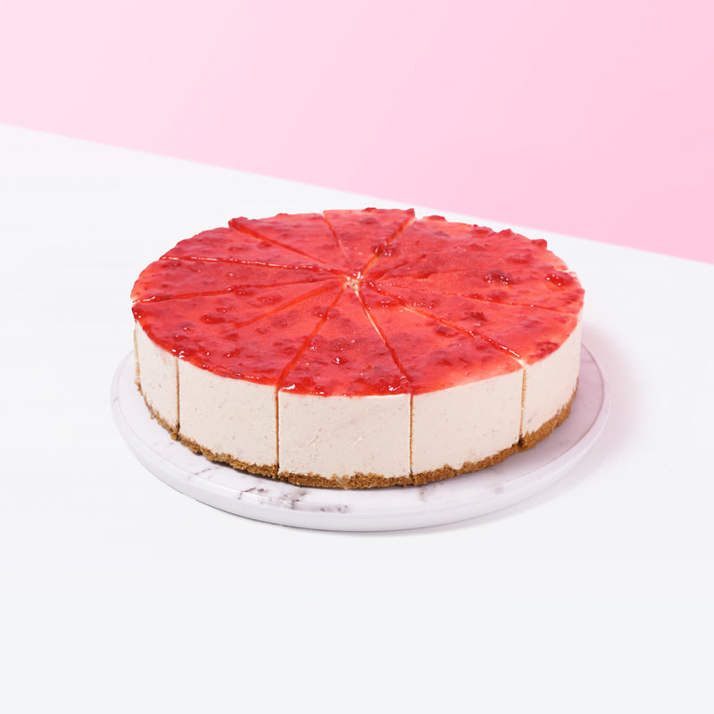 Strawberry Cheesecake - CakeRush