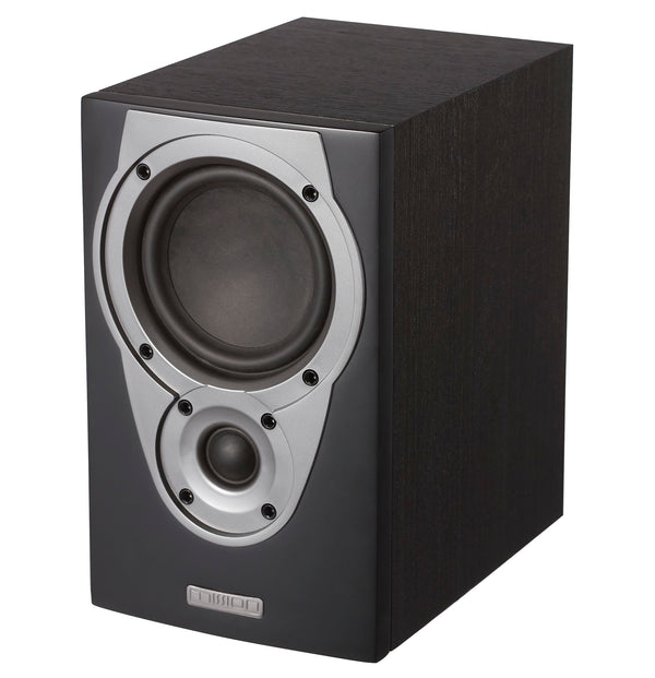 Mission MX1 Bookshelf Speakers (Black) - Manufacturer Refurbished