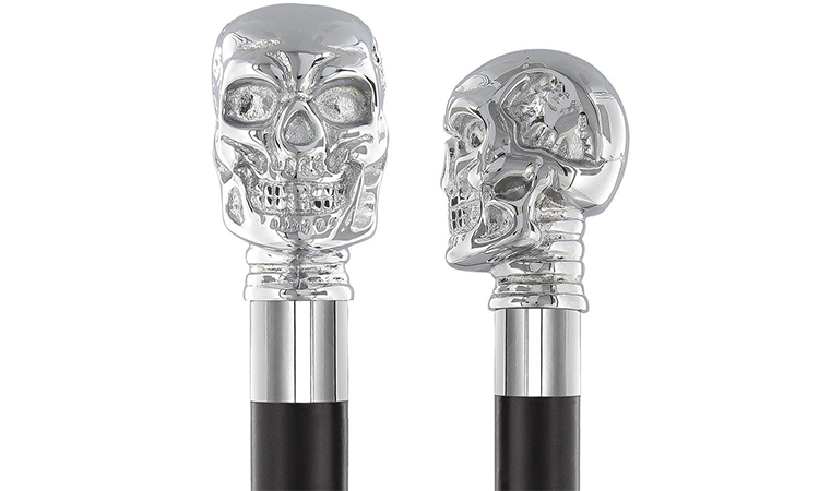 Dr House's New Skull Cane