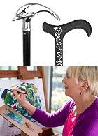 Creative and Artistic Unique Walking Canes for Women
