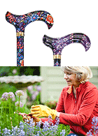 Floral Walking Canes for Women