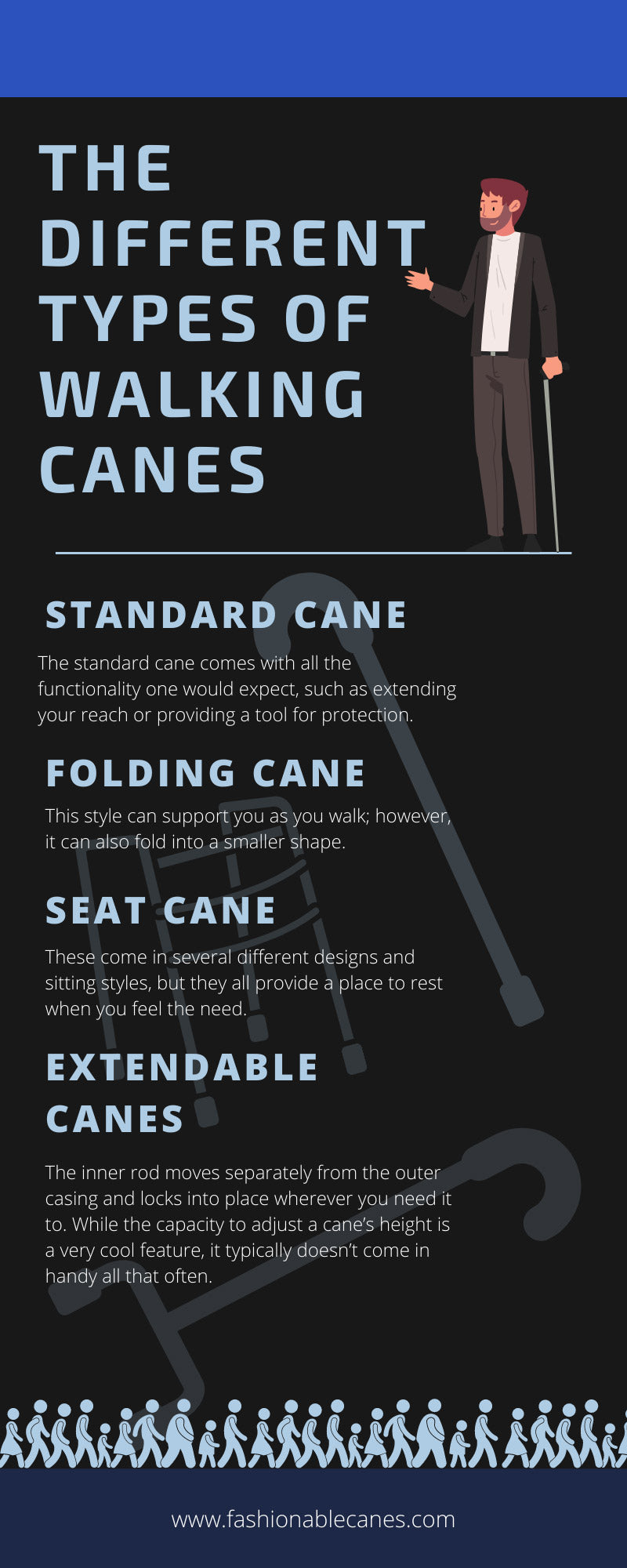 The Different Types of Walking Canes