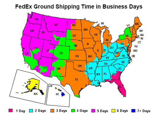 Fedex Ground Shipping Times