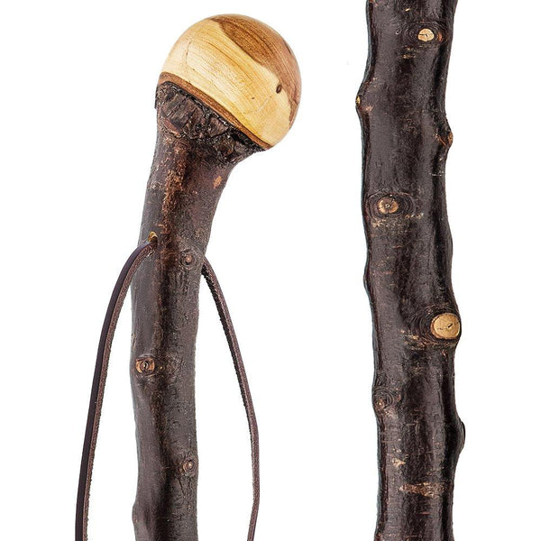 Classic Canes Blackthorn Knob Handle Walking Cane with Blackthorn Shaft