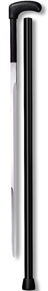 Cold Steel Fritz Handle Sword Walking Cane With Black Aluminum Shaft