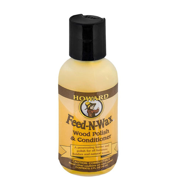 Howards Natural Products Howards Feed-N-Wax Wood Preserver 2 FL. OZ.