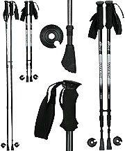 Royal Canes Pair of Carbon Fiber Telescopic Hiking Staffs