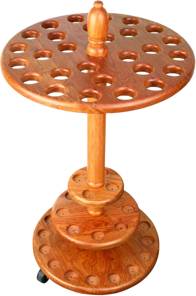 Royal Canes Round Walking Cane Stand- Genuine Rosewood