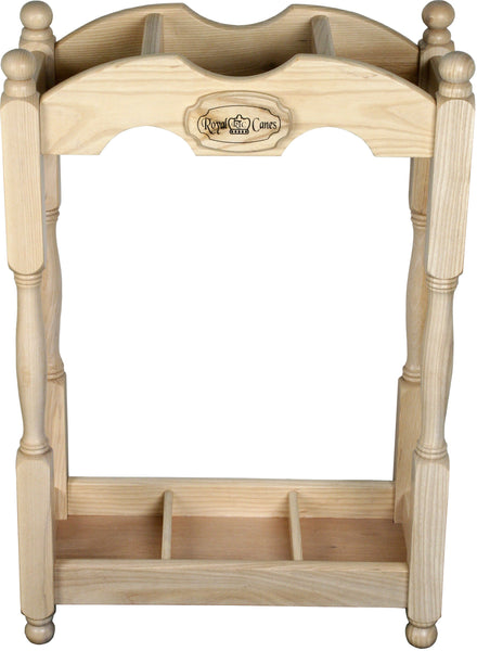 Royal Canes Square Cane Stand- Ash Wood