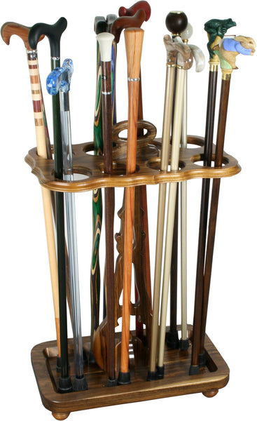 Royal Canes Square Cane Stand- Ovangkol Wood