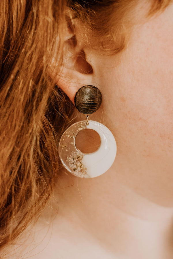 Clean and Classy Earrings