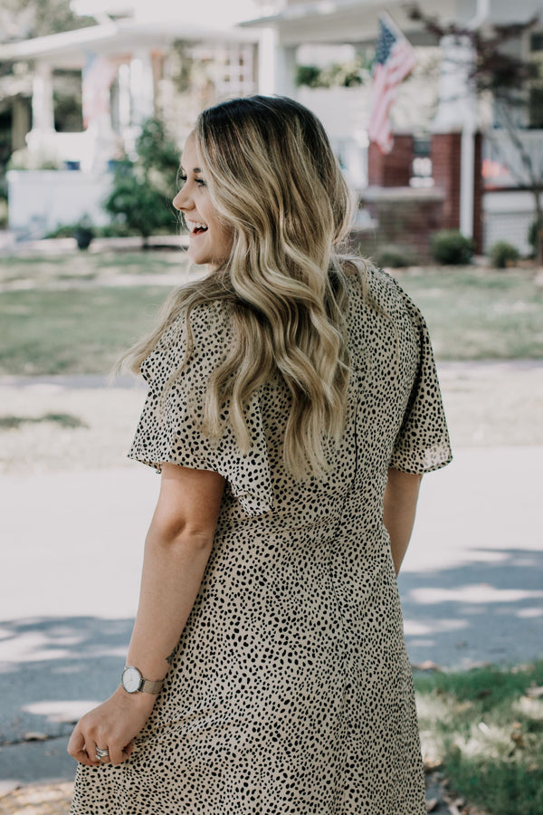 Restock (Plus Size) | Connect The Spots Dress