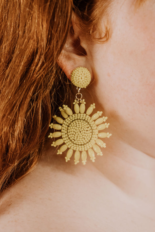 Drop Of Sunshine Earrings