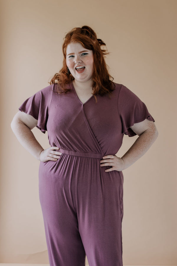 Lovely Lavender Jumpsuit