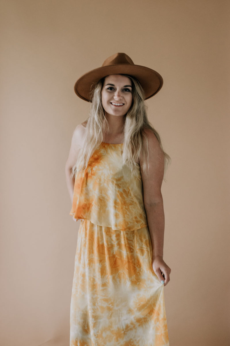 Meet Me at the Sunflower Field Dress (Standard Size Only)