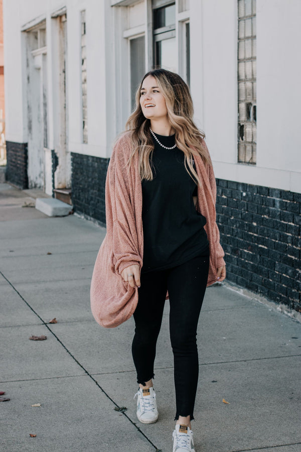 Pink Dreams Cardigan